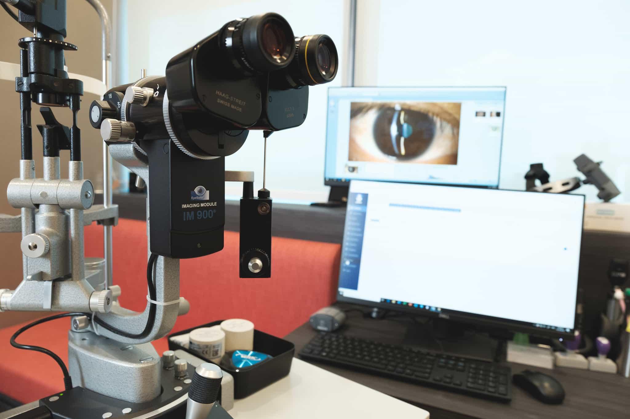 Instruments of Ava Eye Clinic
